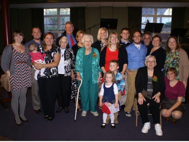 My family at my ordination