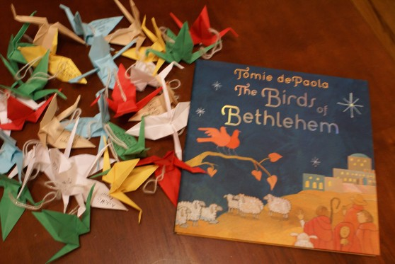 """Birds of Bethlehem"" by Tomie dePaola"