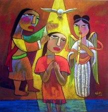 SLIDE 12 - Jesus Baptism
