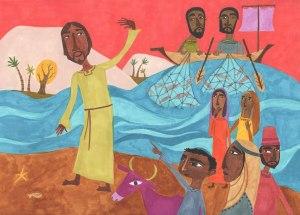 SLIDE 12 - Jesus on Shore