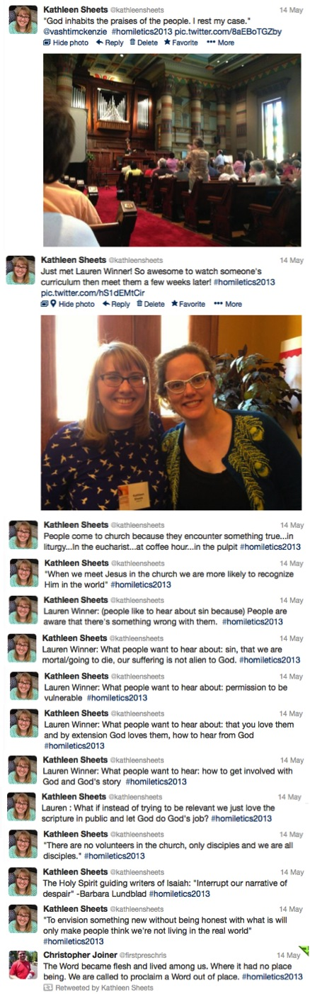 Festival of Homiletics Tweets 2
