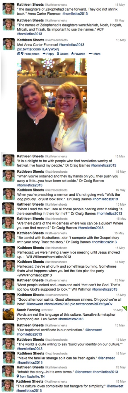 Festival of Homiletics Tweets 4