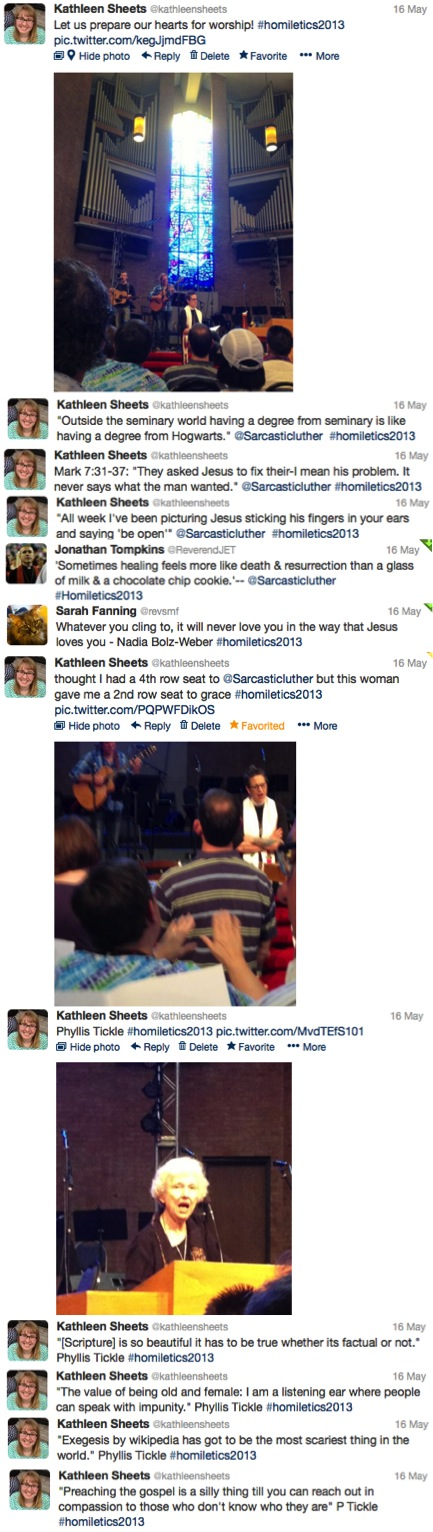 Festival of Homiletics Tweets 5