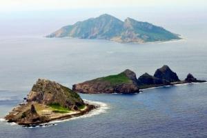 Senkaku isles in Japan