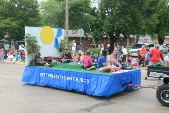 FPC Jesup Float for Farmers Day