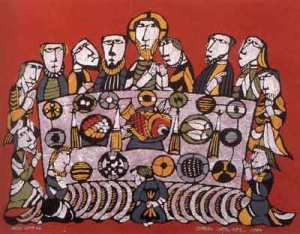 Slide 3 - Last supper