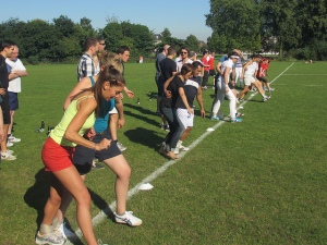SLIDE 1 - Three legged race