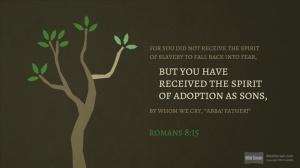 SLIDE 8 - Romans 8-15-17