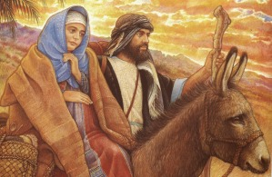 SLIDE 14 - Mary and Joseph