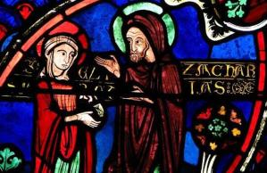 SLIDE 9 - Zechariah and Elizabeth