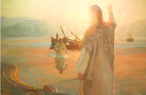 2016 4 10 SLIDE 5 - Peter and Jesus Shore